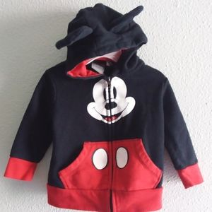 Disney Mickey Mouse sweater with hooded ears-18-24